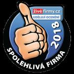 Díky označení Spolehlivá firma dobře víte, že s firmou FOLZA nešlápnete vedle. Stavíme na důvěře!