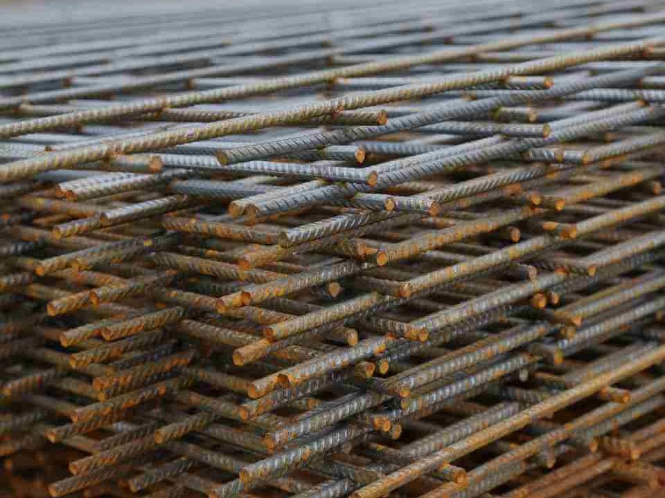 Železová konstrukce pro monolity